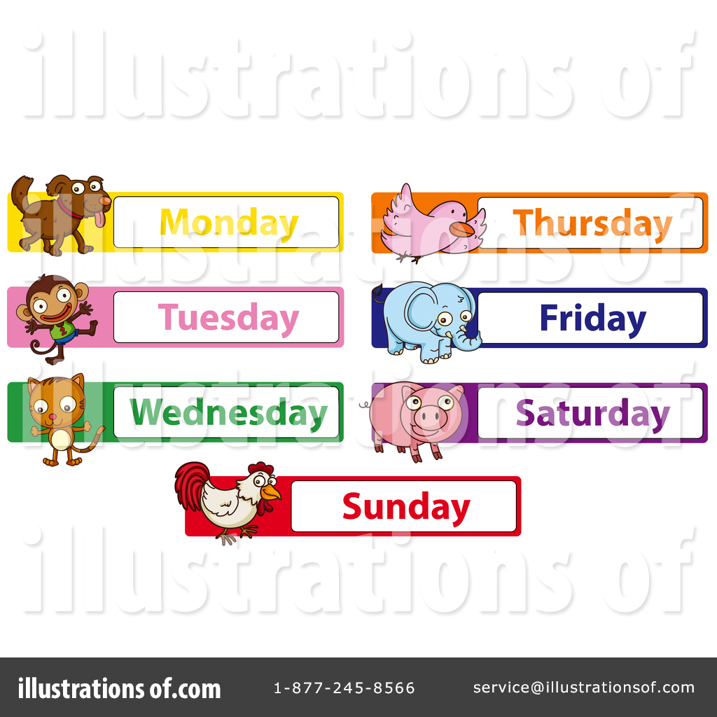 Day Of The Week Clipart #1474588.