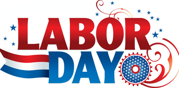 Office closed labor day clipart.