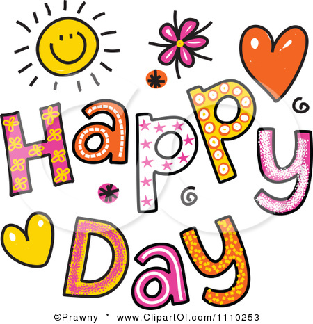 Free Happy Day Clipart.