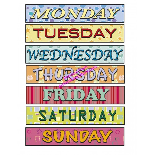 day s clipart clipground days of the week clipart st patrick's day days of the week clipart st patrick's day