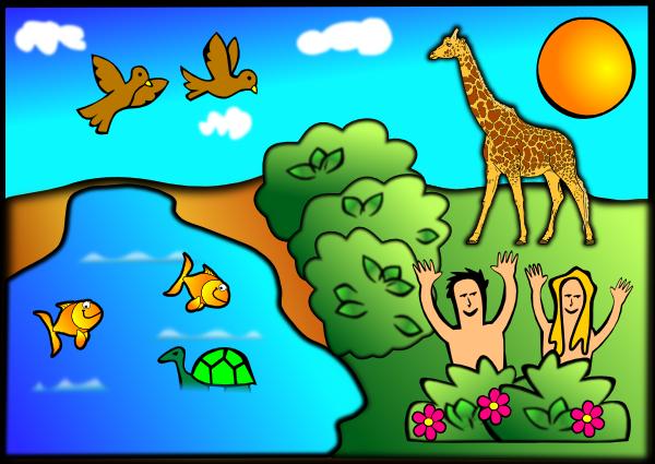 Creation Scene SVG Downloads.