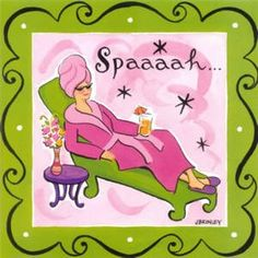 Spa Day Clipart.