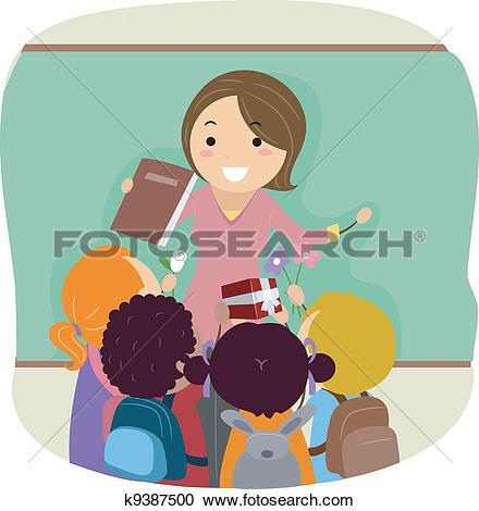 Clipart of Teachers' Day k9387500.