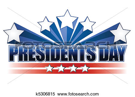 Clipart of presidents day k5306815.
