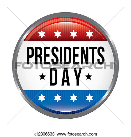Clipart of presidents day k12306633.