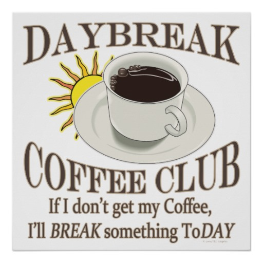 I Need Coffee Clipart.