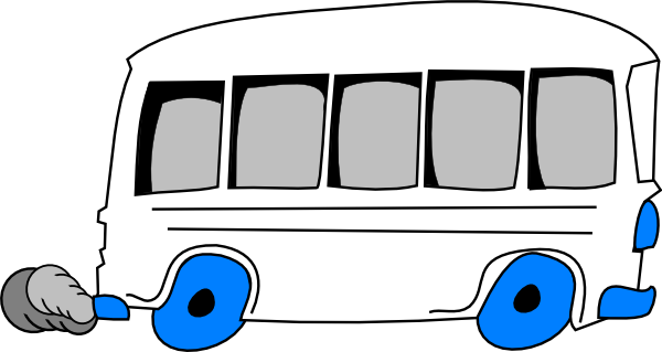White School Bus Clip Art Www.imgarcade.com Online.
