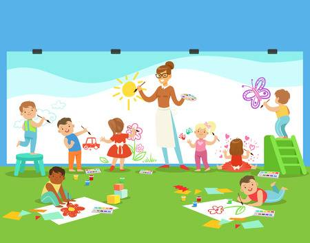 246 Daycare Center Cliparts, Stock Vector And Royalty Free Daycare.