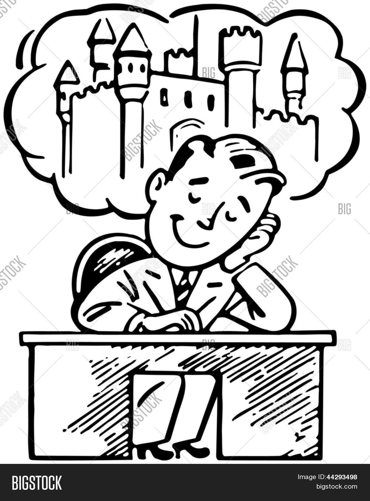 day dreaming clipart