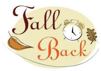 Daylight Saving Time ends Sunday.