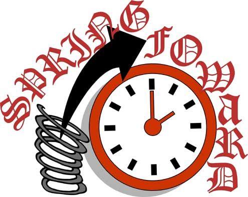 Daylight Savings Time Clip Art Spring Forward.