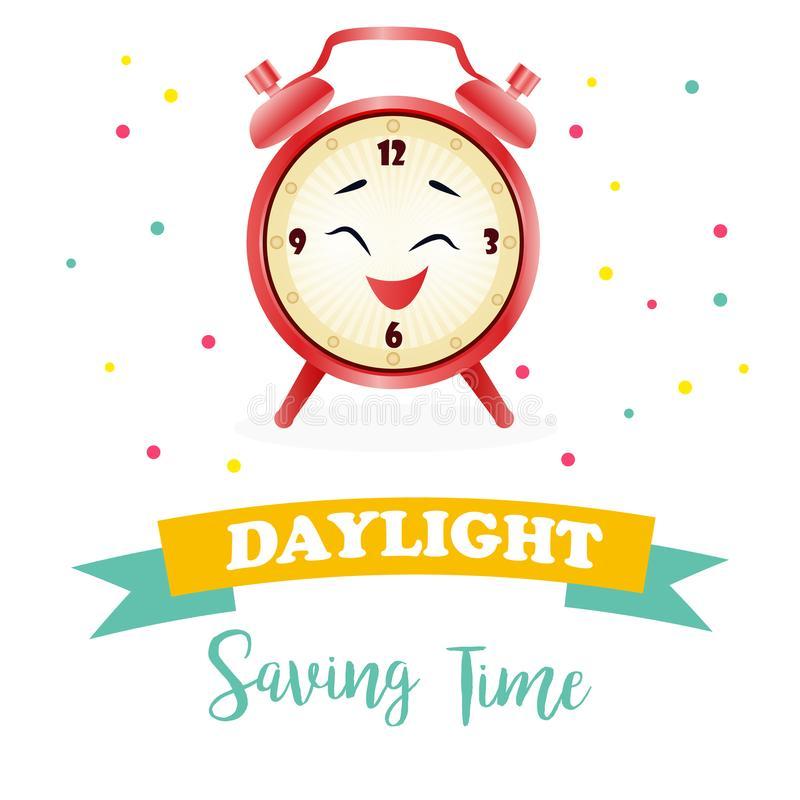 Daylight Saving Time Stock Illustrations.