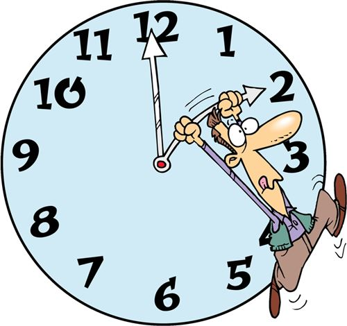 Free Daylight Savings Time Ends Clip Art 2014.