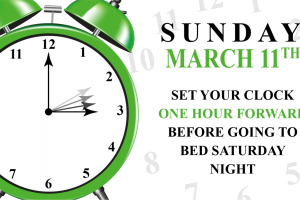 Daylight savings time 2018 clipart 3 » Clipart Station.