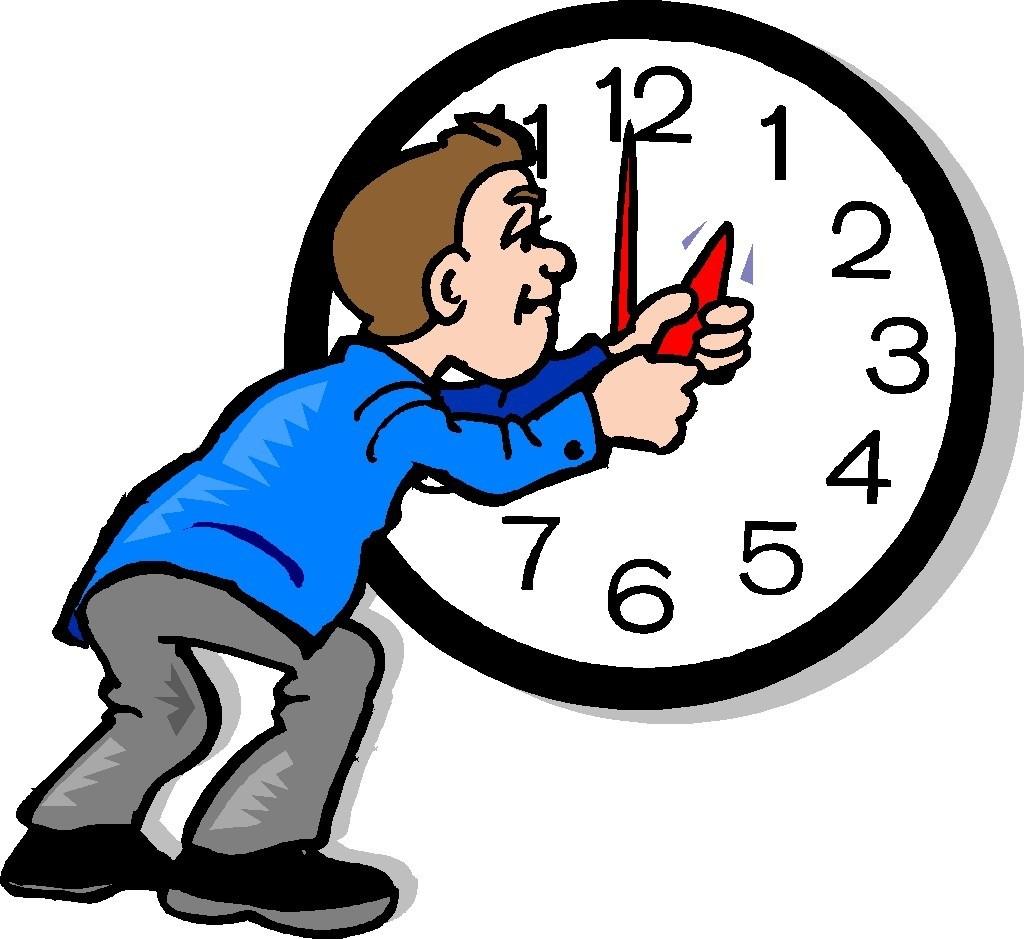 Daylight Savings Time Clip Art.