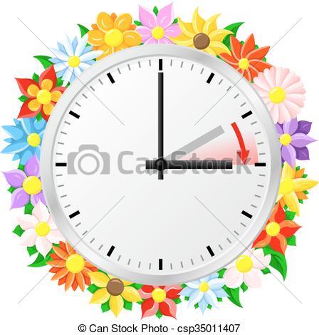 time change to daylight saving time.