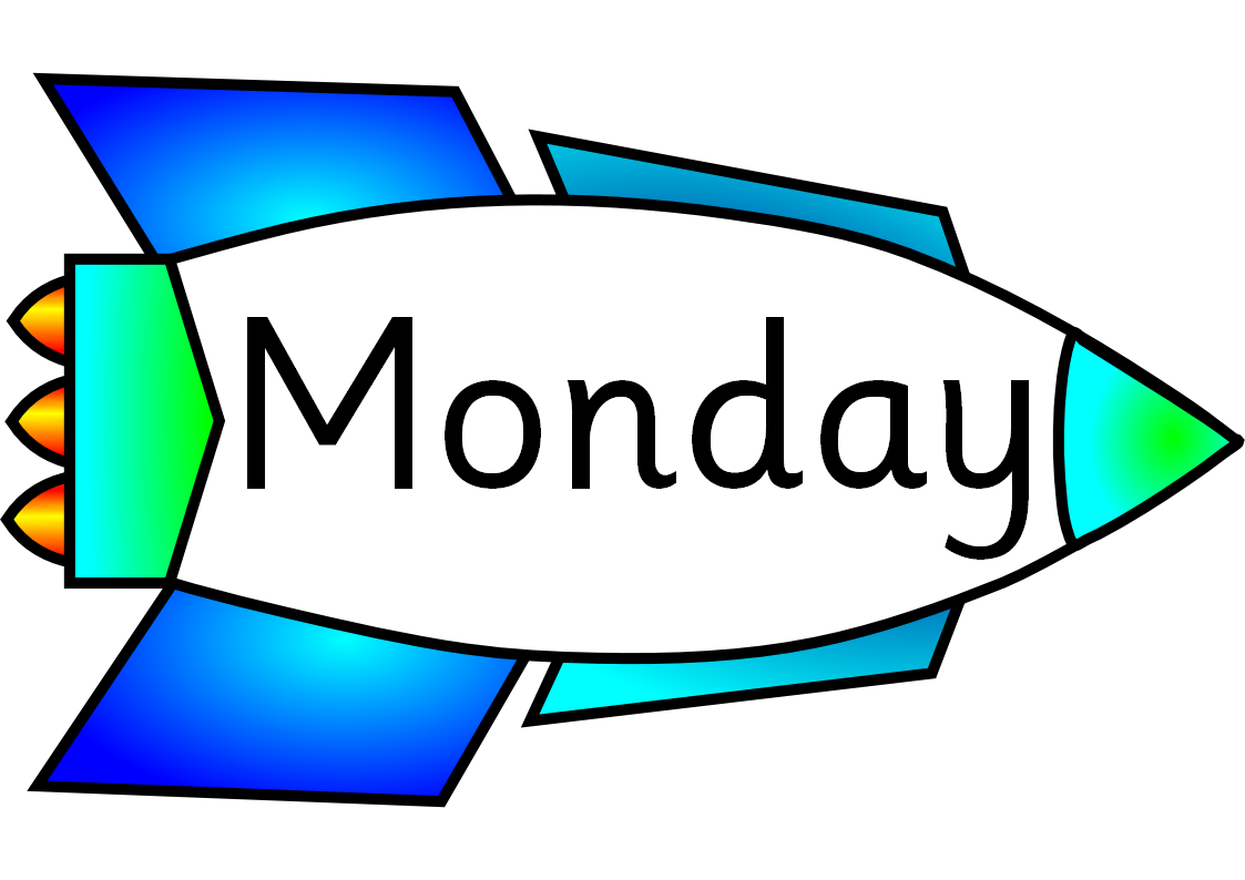 Clip Art Of The Week Days Clipart.