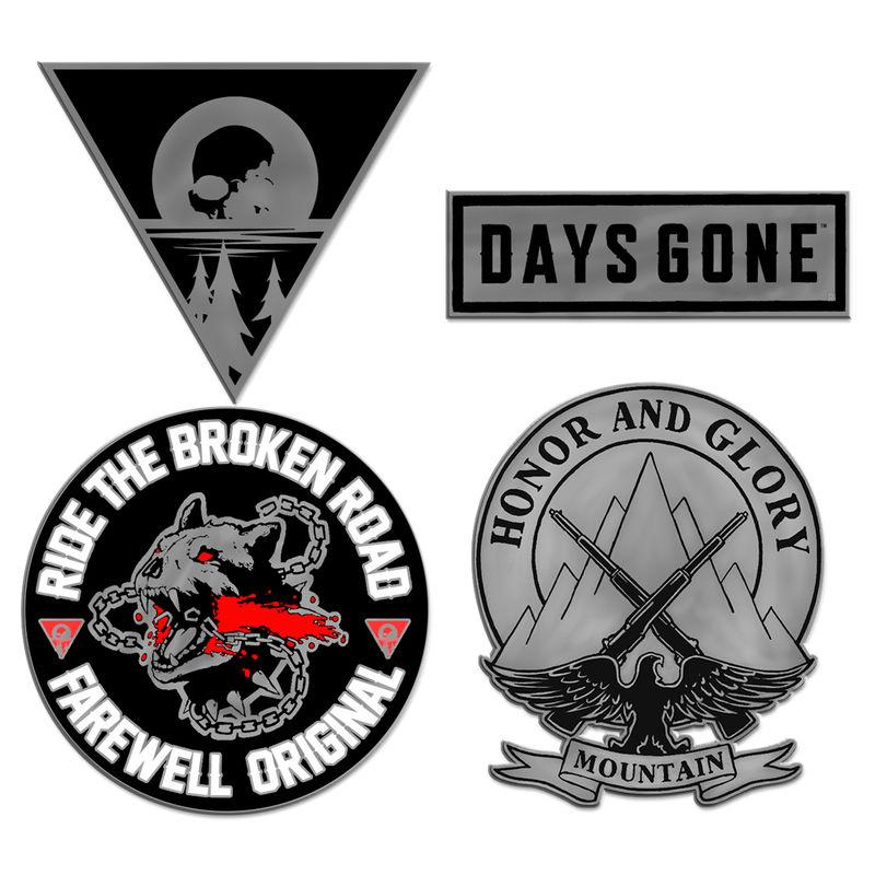 Days Gone pin set.