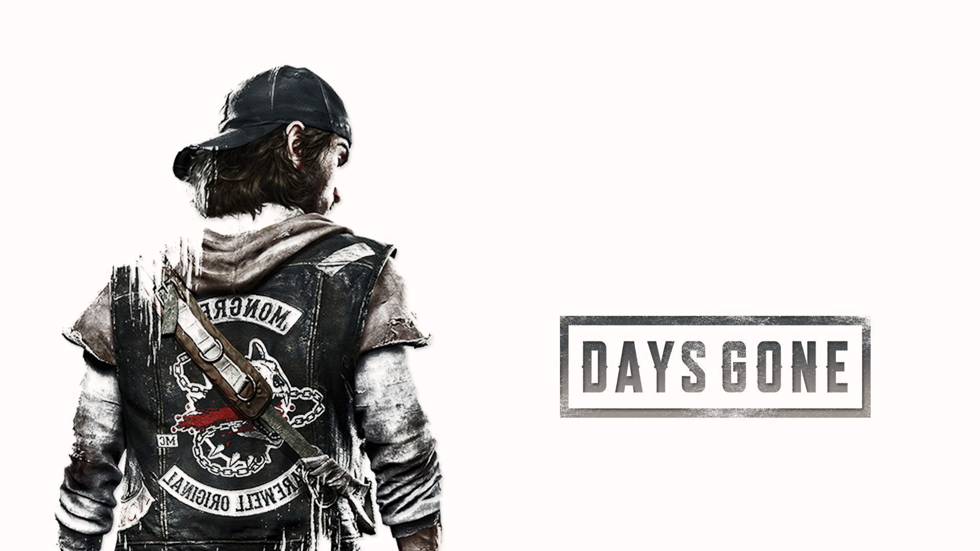 Days Gone Wallpapers with logo.