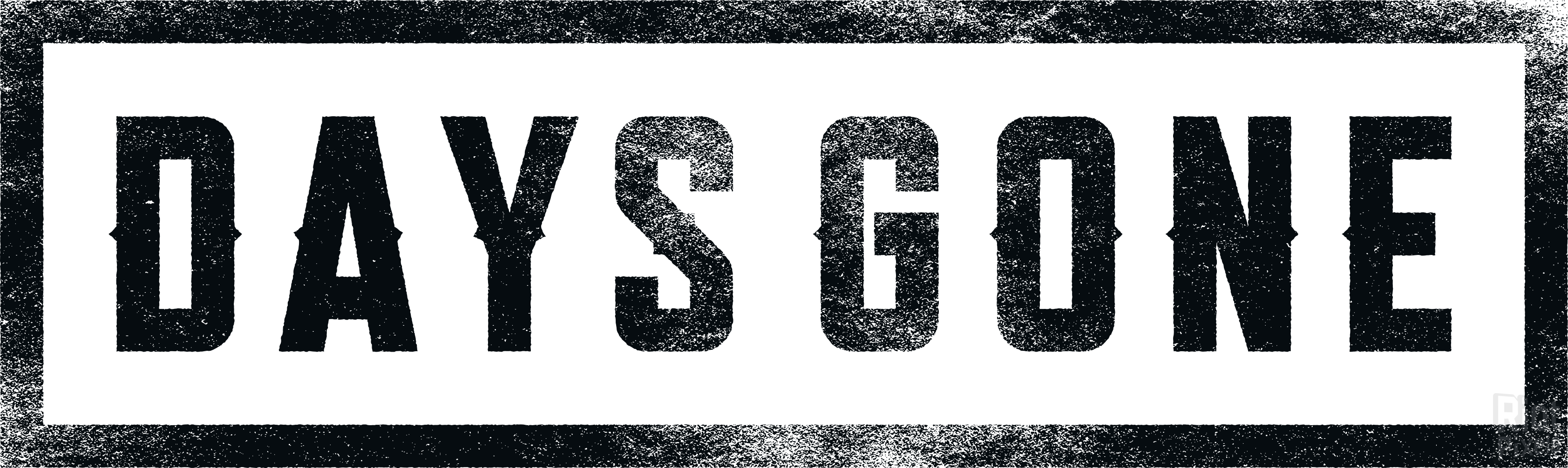 Days Gone Logo PNG Image.