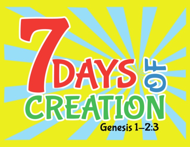 7 Days of Creation with Scripture.