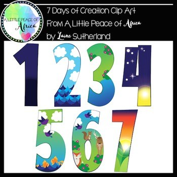 7 days of creation clipart 2 » Clipart Portal.
