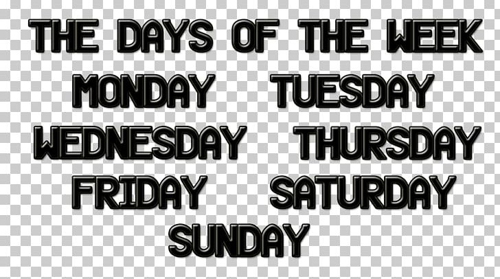 Names Of The Days Of The Week Desktop Tuesday Thursday PNG, Clipart.