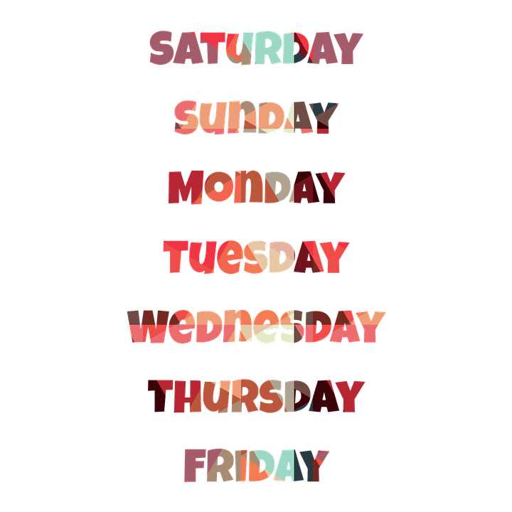 How to Pronounce the Days of the Week.