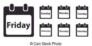 Week day Stock Illustrations. 51,483 Week day clip art images and.