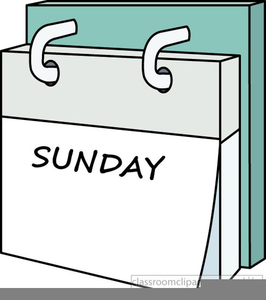Days Of The Week Clipart.