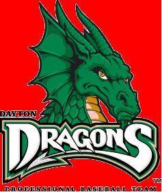 Dayton Dragons primary logo.