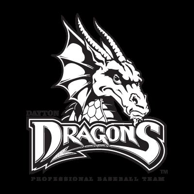 Dayton Dragons logo vector free download.