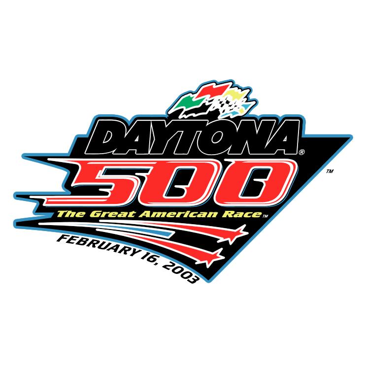 Daytona 500 Free Vector / 4Vector.