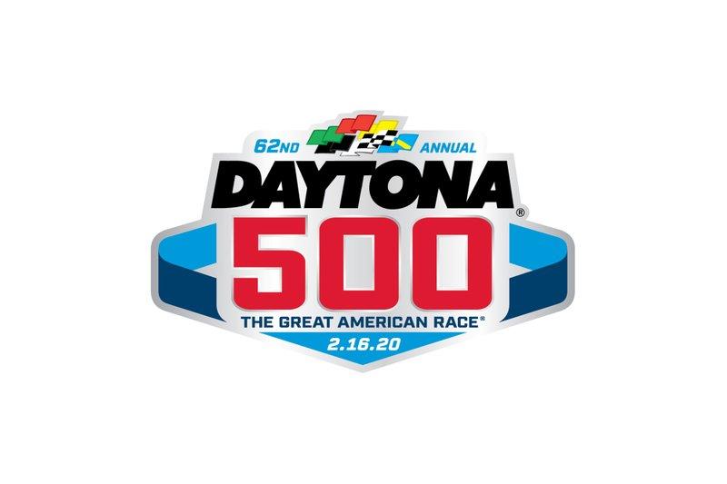 Daytona 500 logo at Daytona 500 logo unveil High.