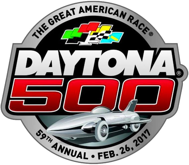Daytona 500 Primary Logo (2017).