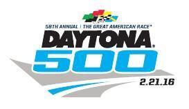 Daytona 500 logo.