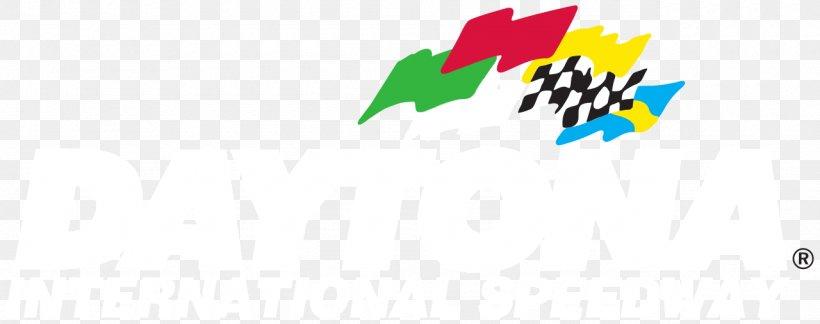 Daytona International Speedway Graphic Design Logo, PNG.