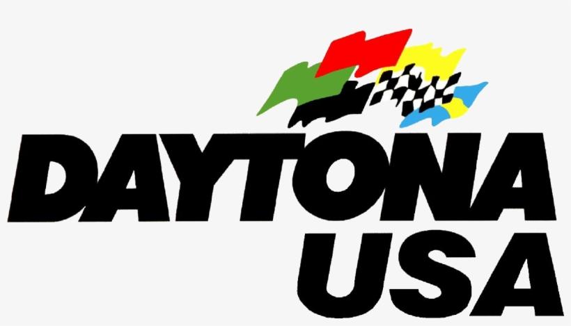 Daytona Usa Logo Transparent PNG.