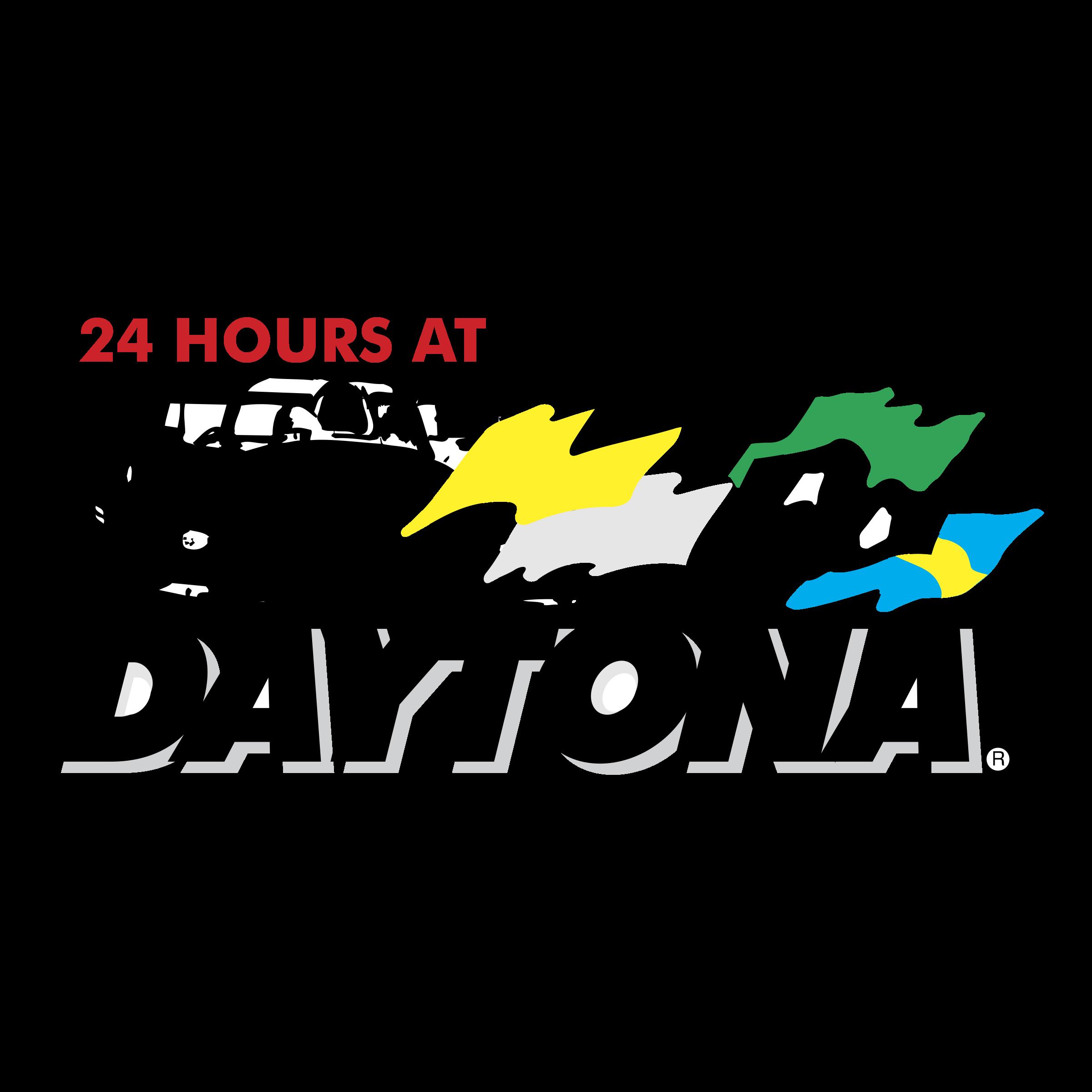 Daytona 24 Hours Logo PNG Transparent & SVG Vector.