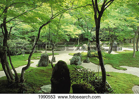 Stock Photo of Japan, Kyushu, Dazaifu, Komyo.