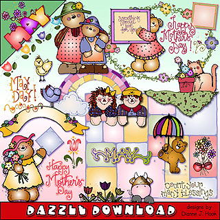 Monthly Dazzle Clip Art Downloads.