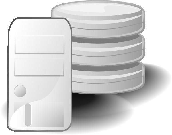 Db Server Clipart.