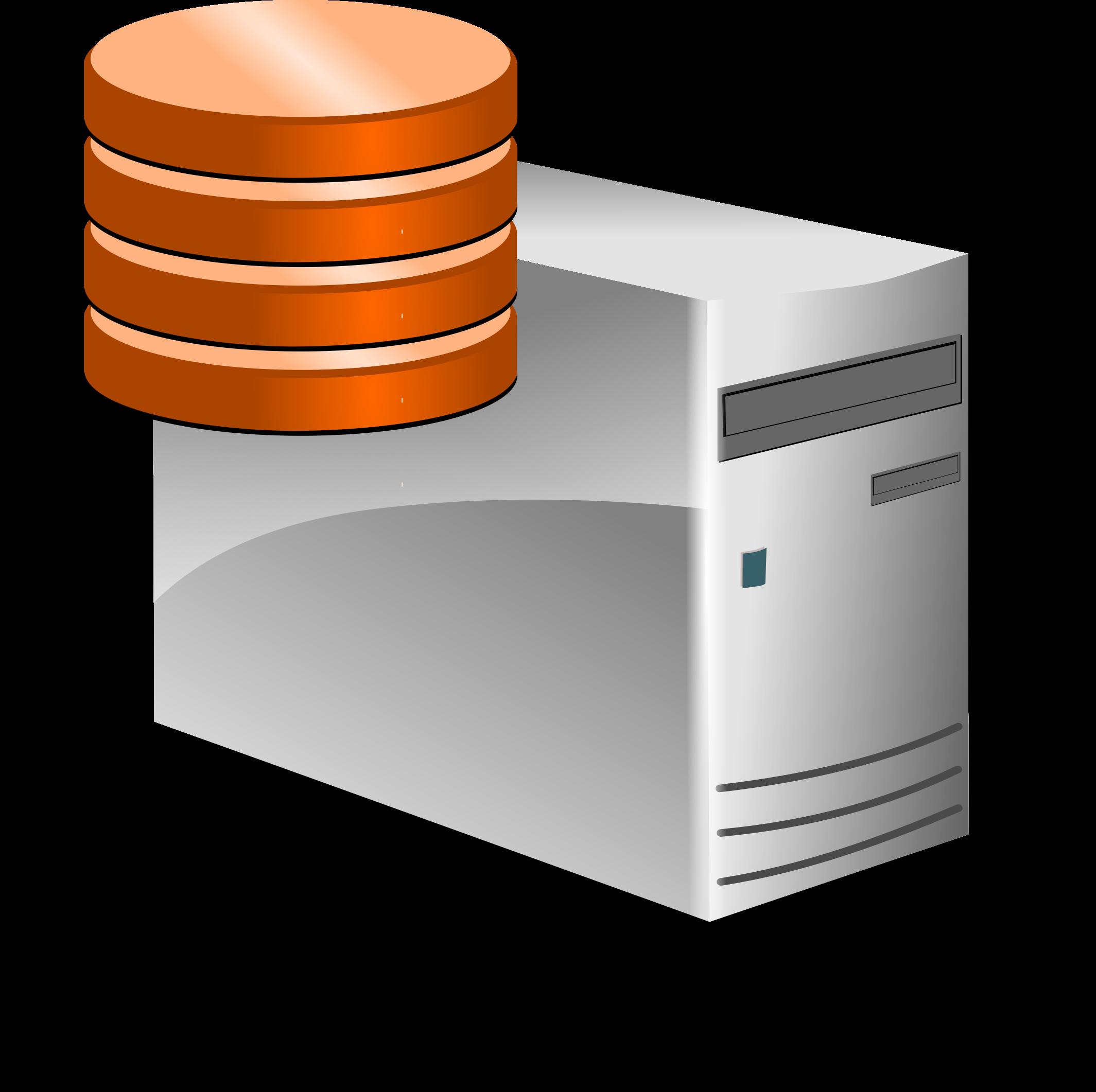 SQL Database Clip Art.