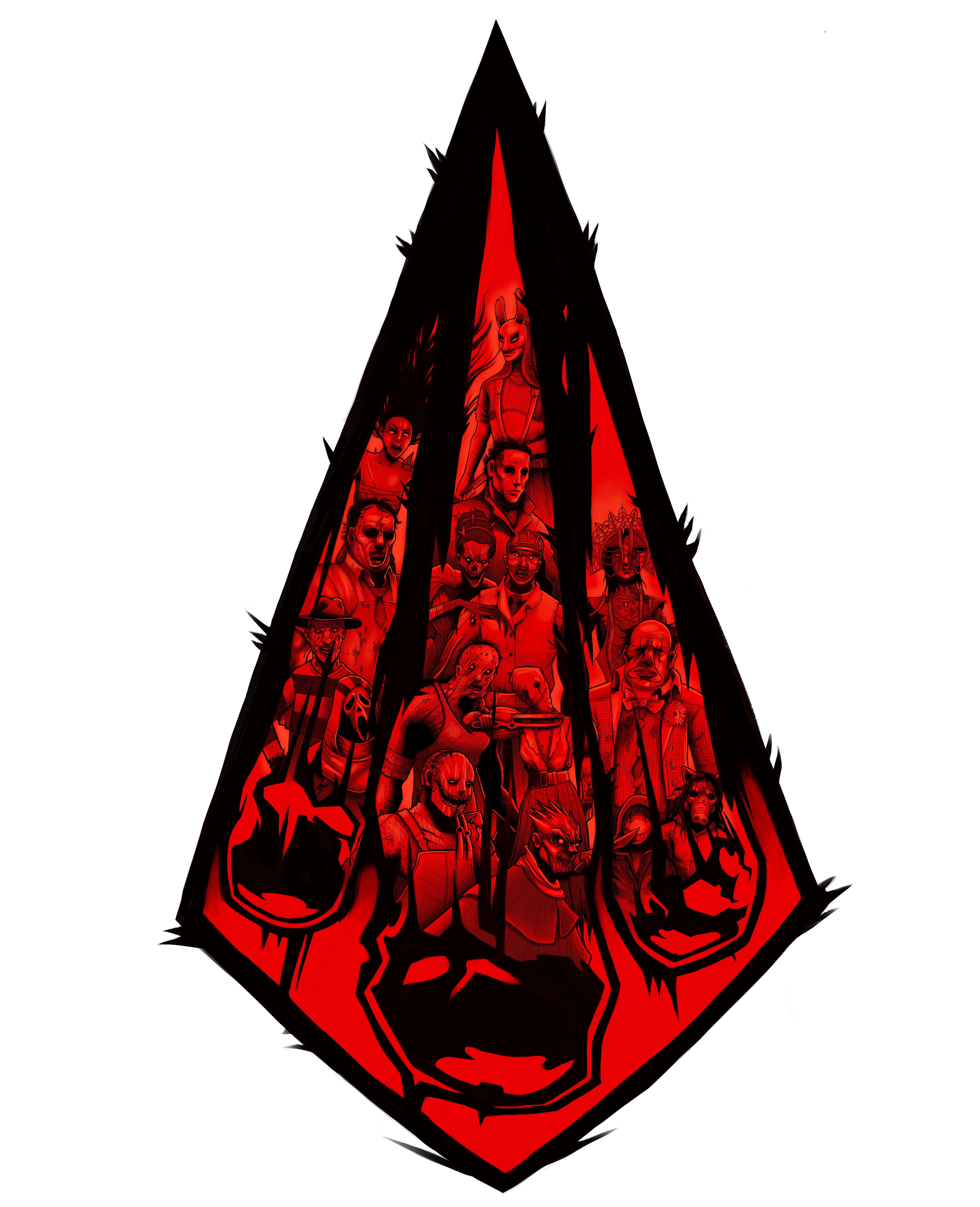 DBD 3 Year Anniversary Fan art by Fall3n — Dead By Daylight.