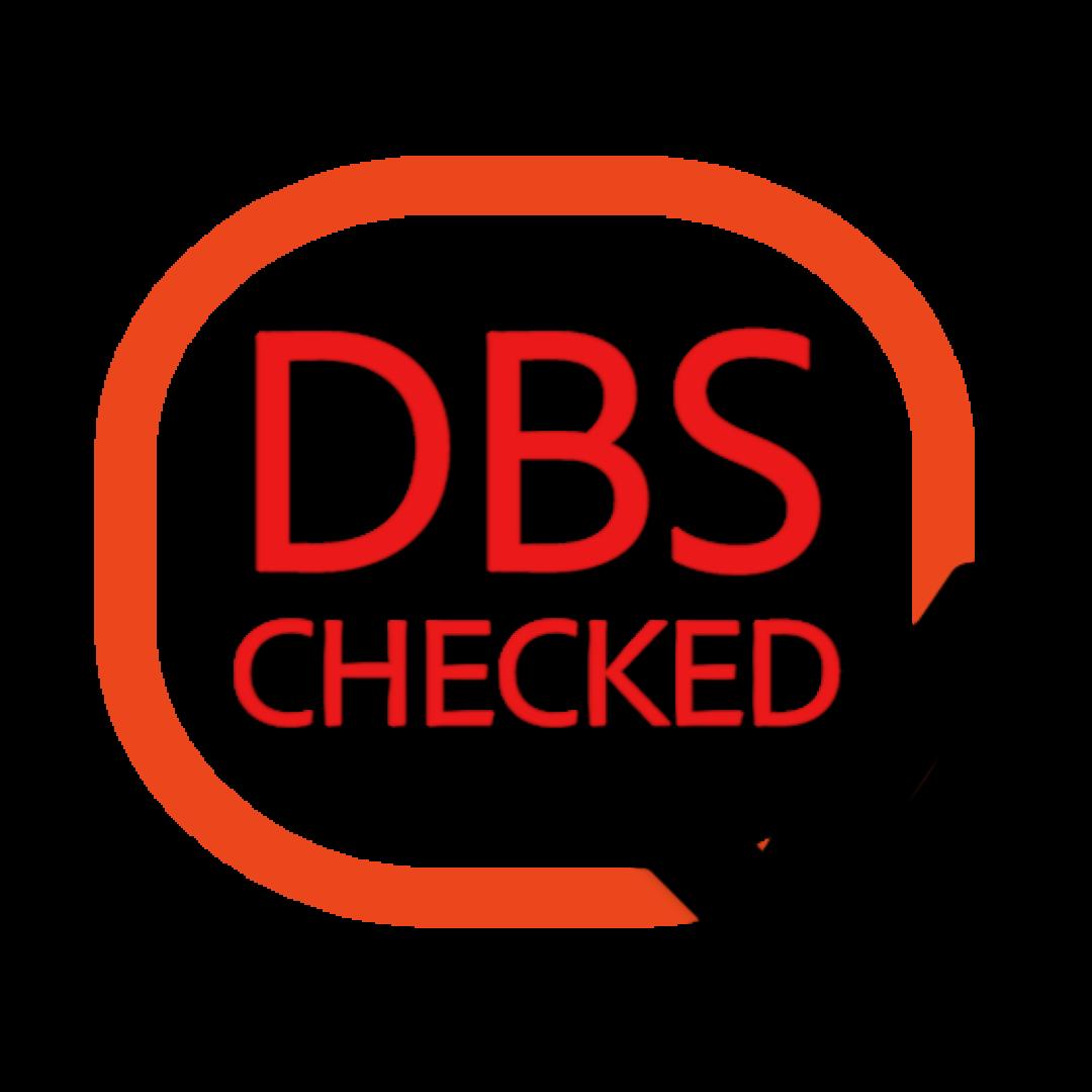 DBS CHECKED CUSTOM LOGO.