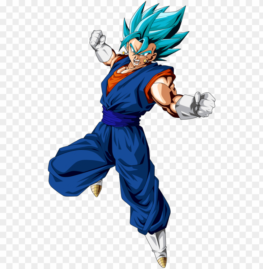 vegito super saiyan blue by frost z.