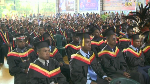 DBTI students graduated with qualified technical skills.