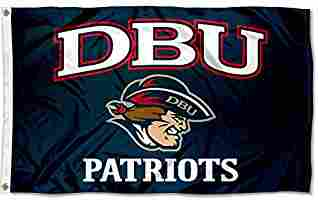 College Flags and Banners Co. Dallas Baptist Patriots DBU.