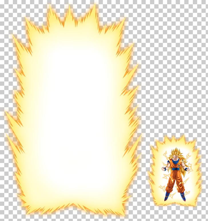 Goku Gohan Vegeta Super Saiya Dragon Ball, aura PNG clipart.
