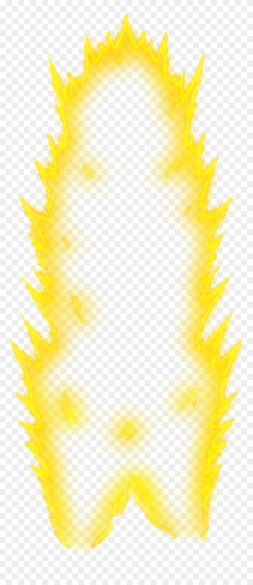 Super Saiyan Aura Png, Transparent Png.